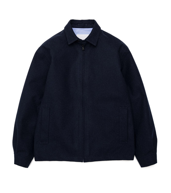 SUAF036_Wool GORE-TEX Jacket_N(Navy)