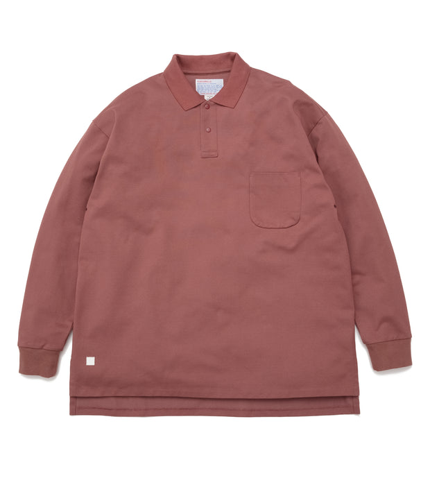 nanamican L/S Polo Shirt