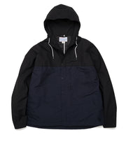 SUAF059_nanamican Cruiser Jacket_KN(Black X Navy)
