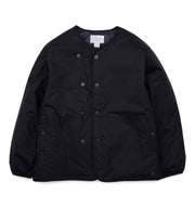 SUAF062_nanamican Down Cardigan_K(Black)