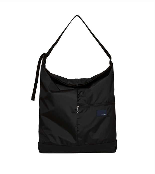 SUOF057_nanamican Utility Shoulder Bag L_K(Black)