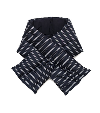 SUKF046_Striped Down Muffler_N(Navy)