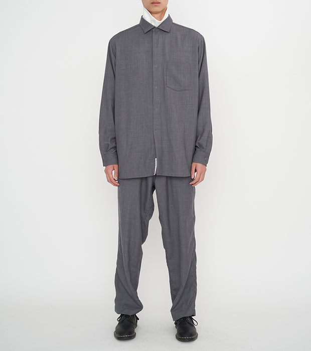 SUGF021_Regular Collar Wind Shirt_1