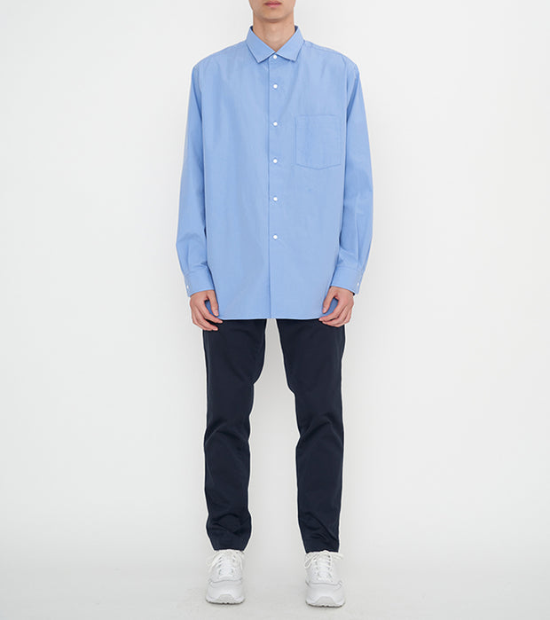 SUGF006_Regular Collar Wind Shirt_1