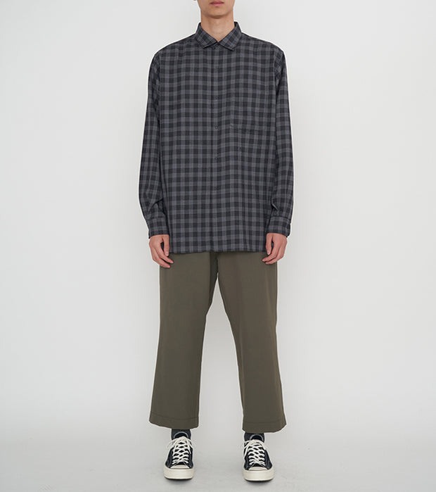 SUGF022_Regular Collar Wind Shirt_1