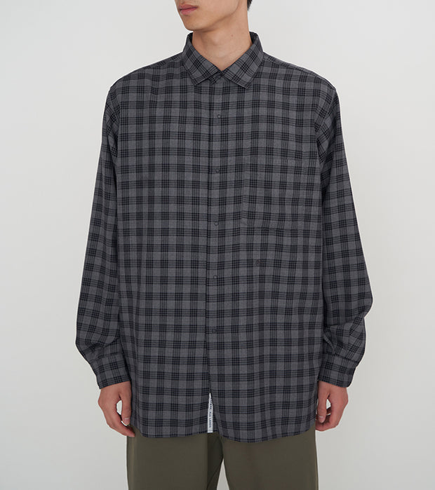 SUGF022_Regular Collar Wind Shirt_2