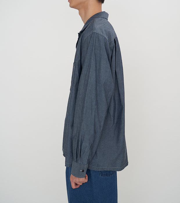 SUGF010_Open Collar Wind Shirt_3
