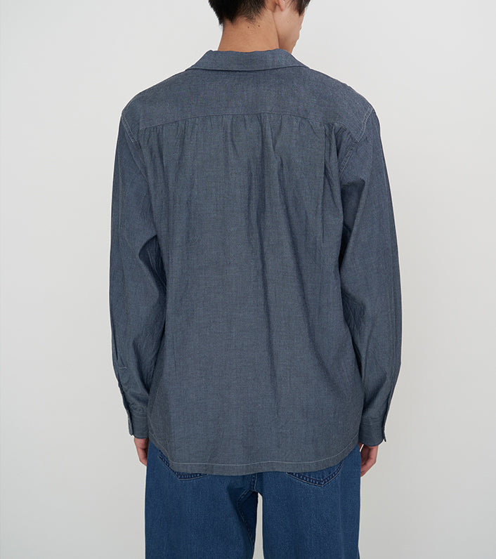 SUGF010_Open Collar Wind Shirt_4