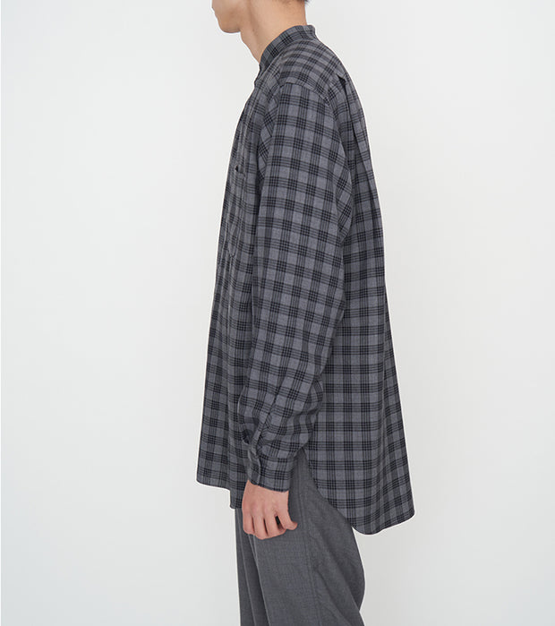 SUGF023_Band Collar Wind Shirt_3