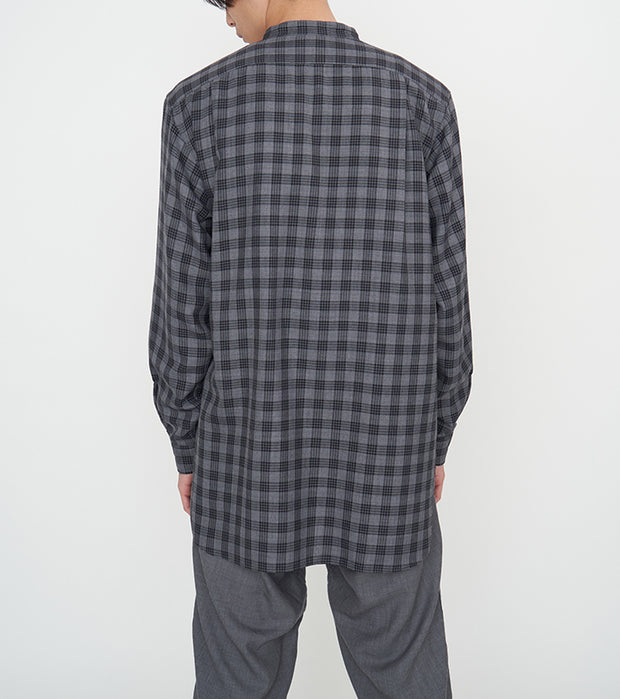 SUGF023_Band Collar Wind Shirt_4