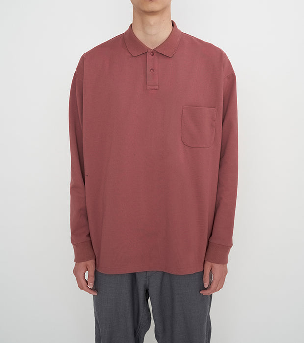 SUHF053_nanamican L/S Polo Shirt_2