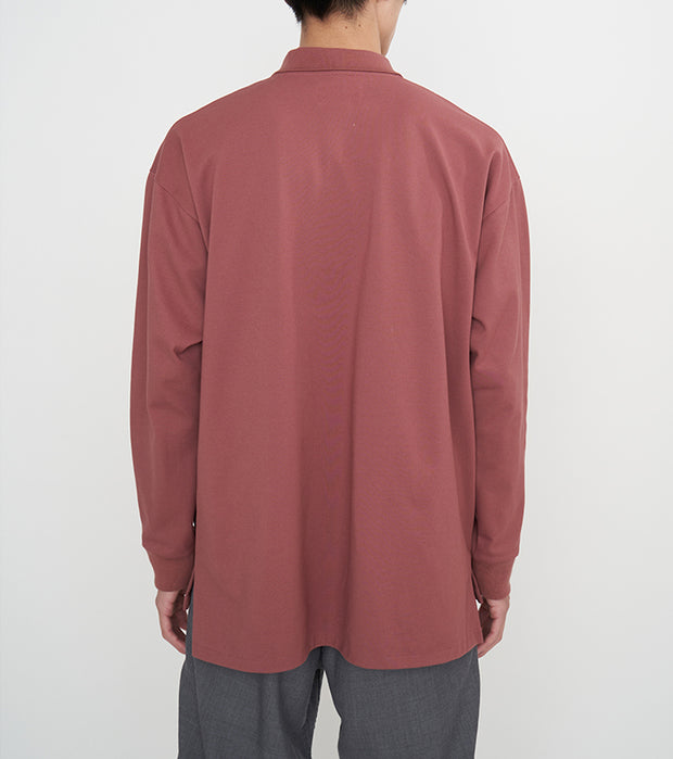 SUHF053_nanamican L/S Polo Shirt_4