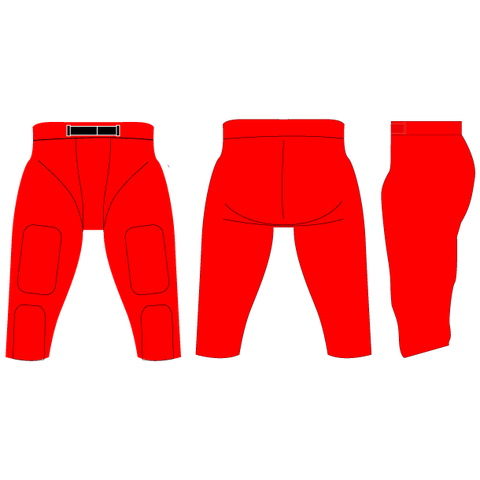 Touchdown Integrated Football Pants (Solid-Color)