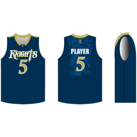 INDIVIDUAL Triple Double Basketball Jersey w/ Mesh Back Panel