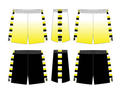 REVERSIBLE Swish Fitted Basketball Shorts