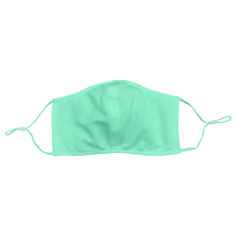 Solid-Color Mint Non-Medical Face Mask