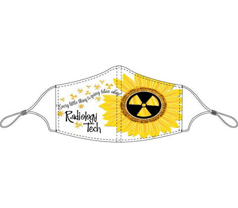 Decorated Radiology Tech Non-Medical Face Mask