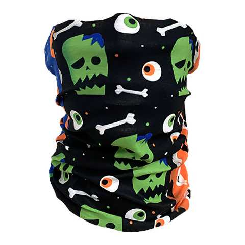 Decorated Halloween Neck Gaiter