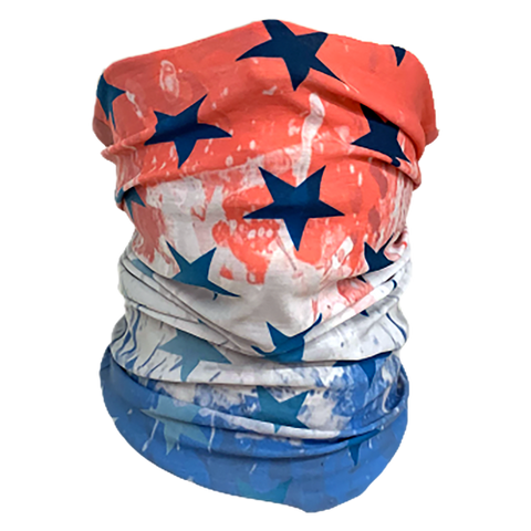 Decorated Patriotic Neck Gaiter