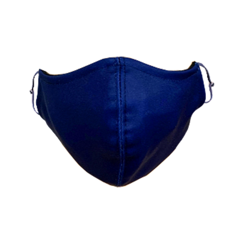 Solid-Color Navy Non-Medical Face Mask