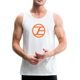 Infinite Edge Premium Cotton Tank (Adult) - white
