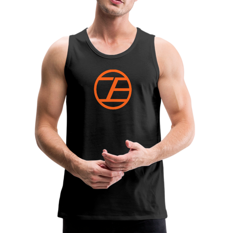 Infinite Edge Premium Cotton Tank (Adult) - black