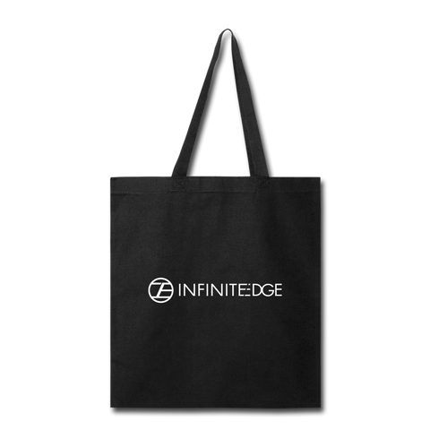 Infinite Edge Tote Bag - black