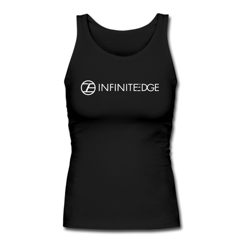 Infinite Edge Fitted Tank (Women) - black
