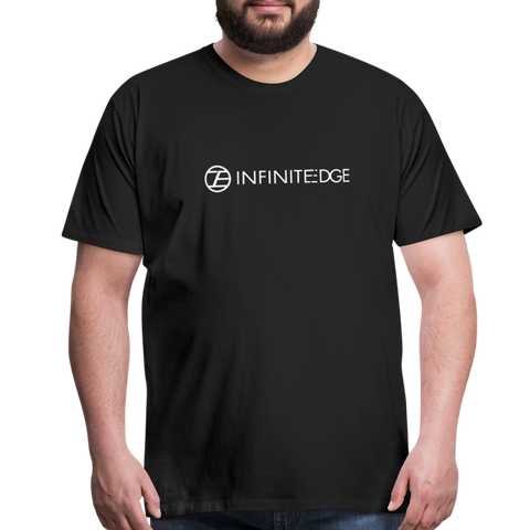 Infinite Edge Premium Cotton Tee (Adult) - black