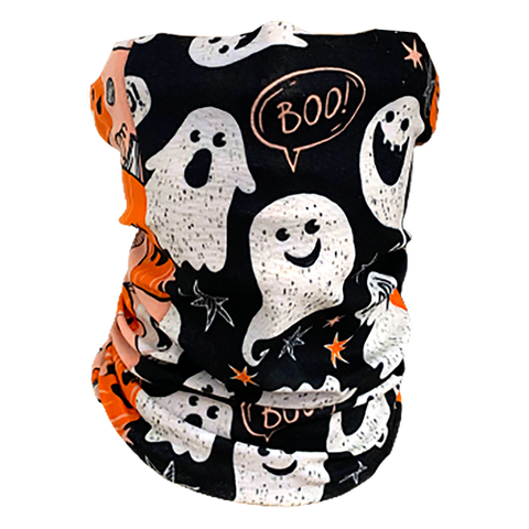 Decorated Spooky Neck Gaiter