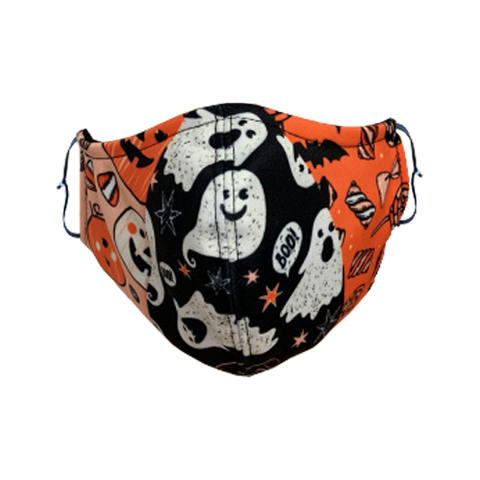 Decorated Spooky Non-Medical Face Mask