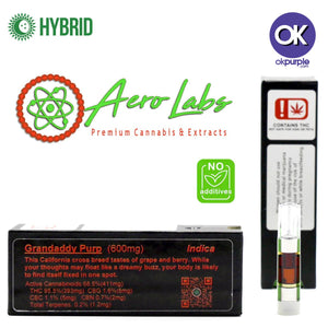 Aero Labs Strain Specific Cartridge - Grandaddy Purp