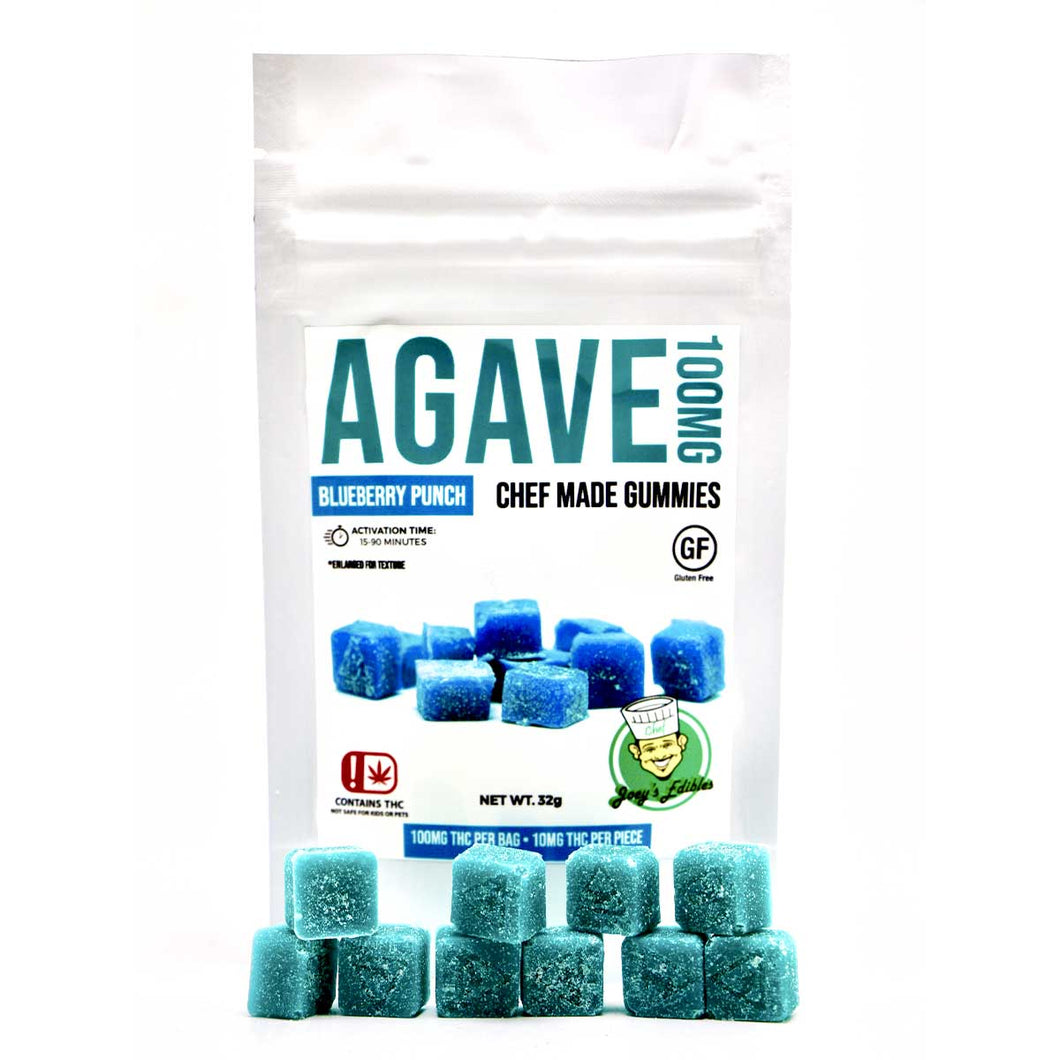 Agave 100MG Blueberry Punch by Chef Joey (30 Pack)