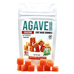 Agave 100MG Tangerine by Chef Joey (30 Pack)