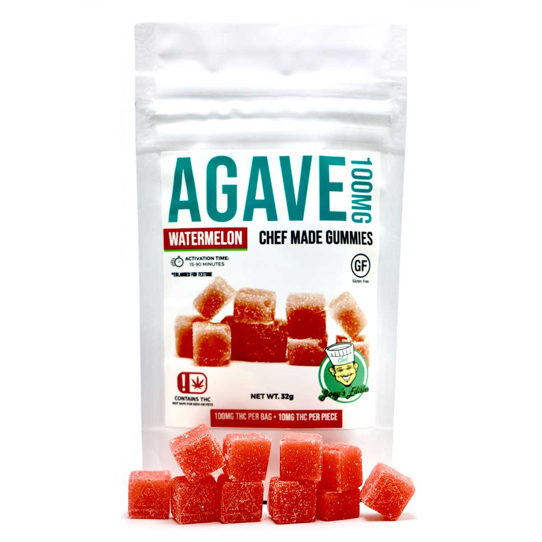 Agave 100MG Watermelon by Chef Joey (30 Pack)