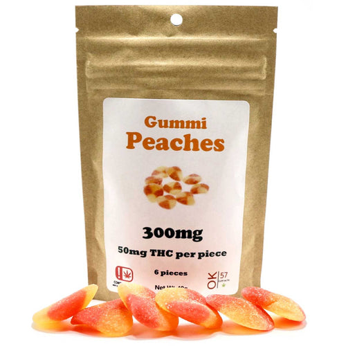 Gummy Peaches 300MG