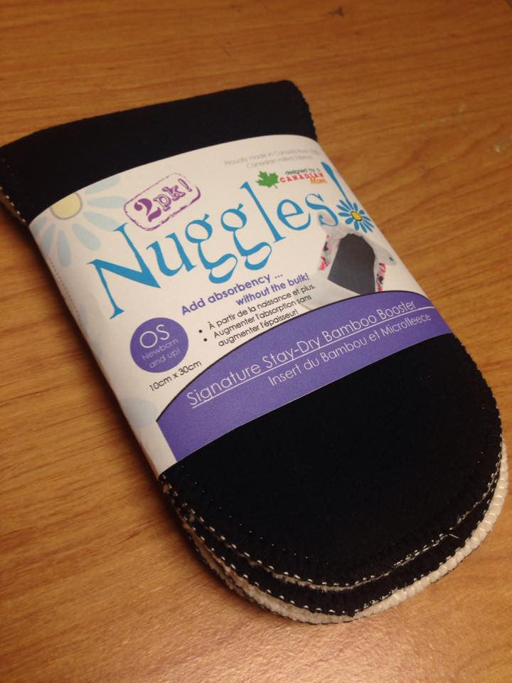 Nuggles!™ Signature Stay-dry Bamboo Booster 2 Pack