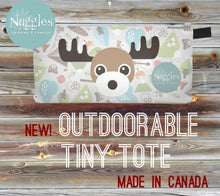 Outdoorable Tiny Tote - Moose, Nuggles!™ Designs Canada - Nuggles Designs Canada