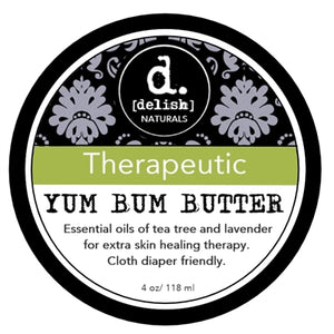 "Yum Bum Butter - ""Therapeutic"", Delish Naturals - Nuggles Designs Canada"