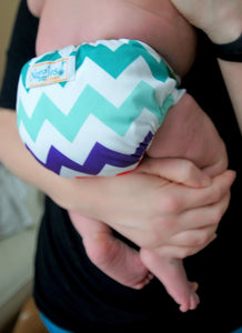Nuggles!™ Bittees Stay-dry Newborn AIO Diaper