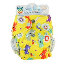 Bittees Stay-dry Newborn AIO Diaper, Nuggles!™ - Nuggles Designs Canada