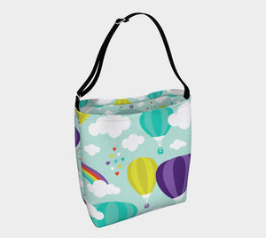 Up & Away Trendy Tote, Nuggles!™ Designs Canada - Nuggles Designs Canada