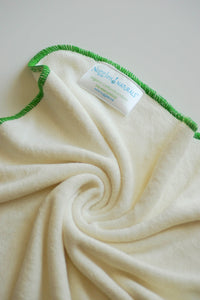 BambooLUXE Terry Prefold Insert - Daytime (2 ply), Nuggles! Naturals™ - Nuggles Designs Canada