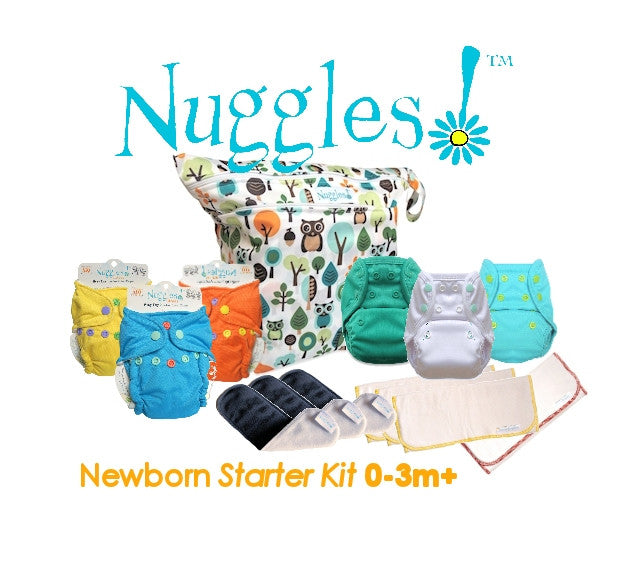 Nuggles!™ Newborn Starter Package (7 diaper changes), Nuggles!™ - Nuggles Designs Canada