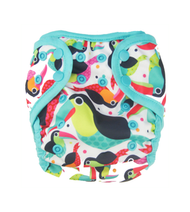 SECOND QUALITY - Swimsees™ Reusable O/S Swim Diaper, Nuggles!™ Modern Cloth Diapers - Nuggles Designs Canada