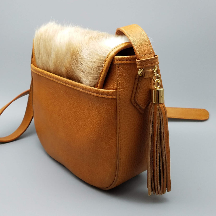 HAIRCALF CROSSBODY BAG