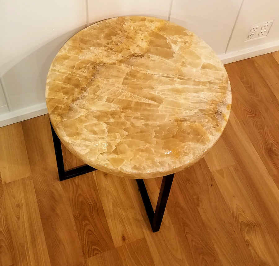 ONYX ROUND COFFEE TABLE