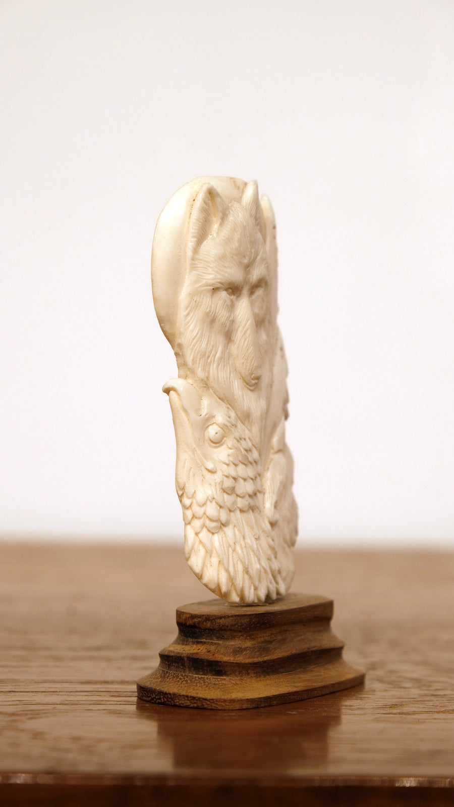 ANIMAL TOTEM CARVED FROM BONE