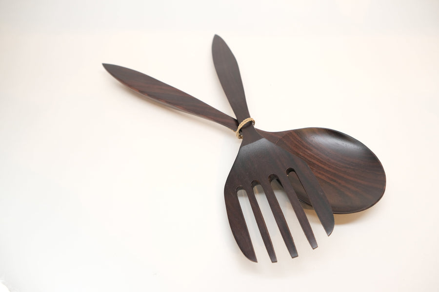 SONO WOOD SALAD SET