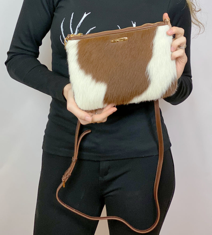HAIRCALF MINI CROSSBODY BAG